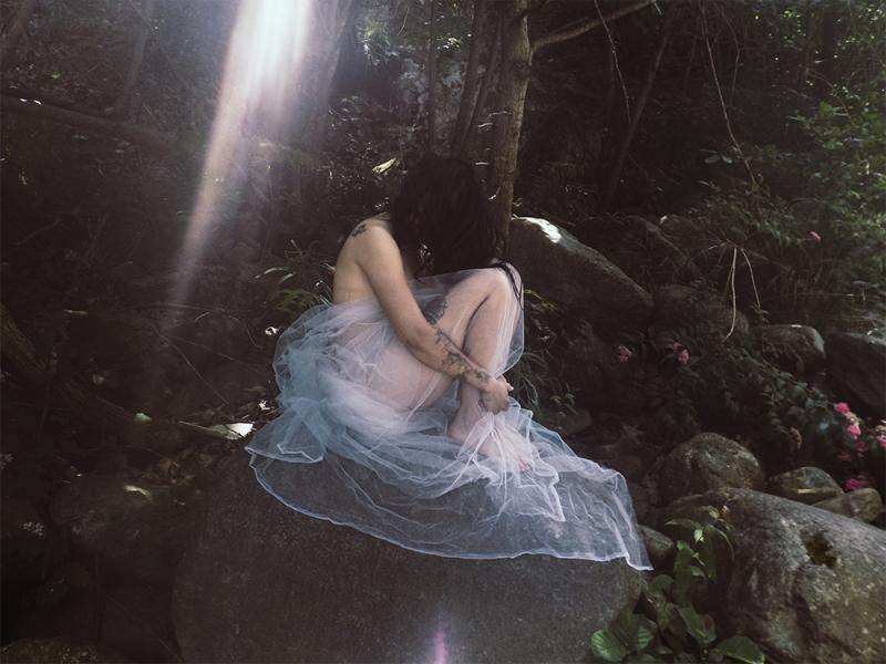 """Il rifugio"" © Isabella Quaranta - model: Fiorella Vair"