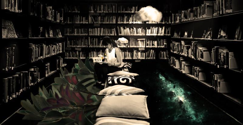 """""""libri la mente libri come l'aire"""" © Lorenzo Perini"""