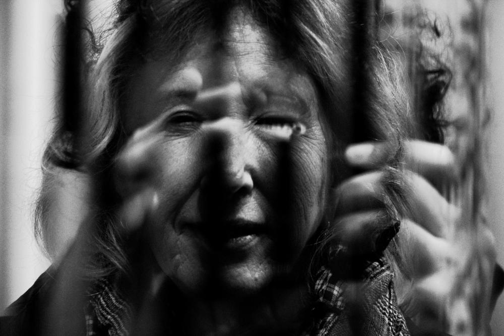 """""""L'immagine di me è nell'occhio del dio"""" © Davide Gualtieri"""