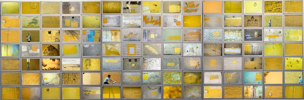Finissage Maziar Mokhtari Yellow Apocalypse (galleria +) oltredimore, Bologna