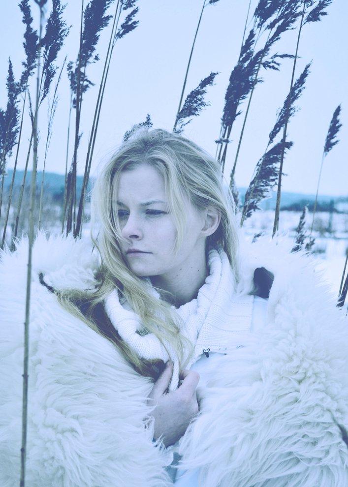"""""""Blue and cold winter"""" by Malwina Walczak"""