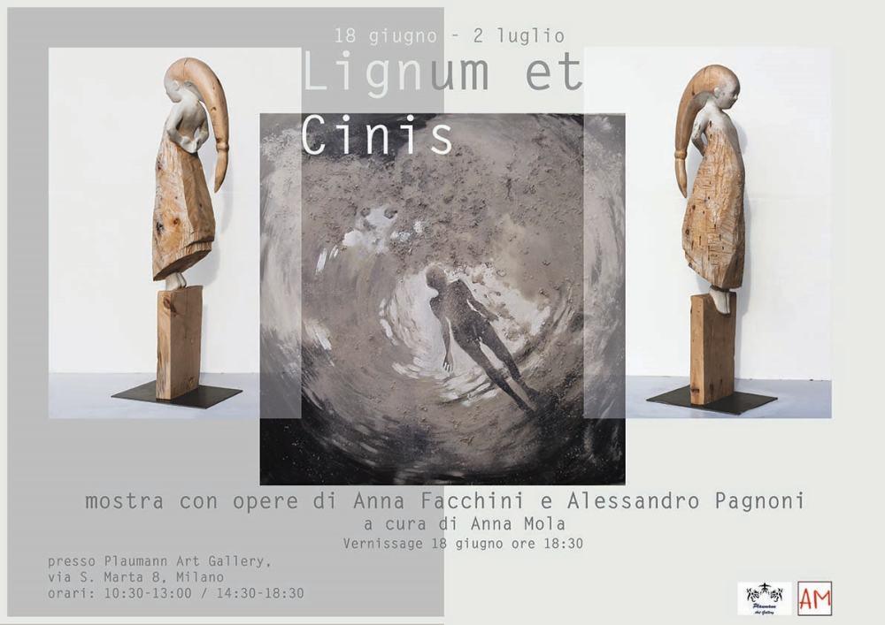 Lignum et Cinis: mostra bipersonale con opere di Anna Facchini e Alessandro Pagnoni