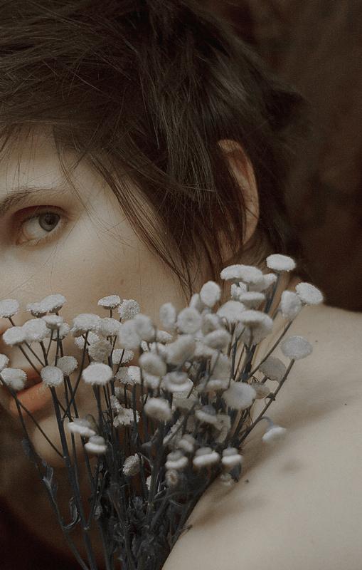 Self-portraits by Daria Amaranth