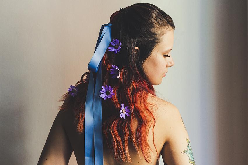 """""""Lilac Senecio"""" by AleMarc Bloom"""